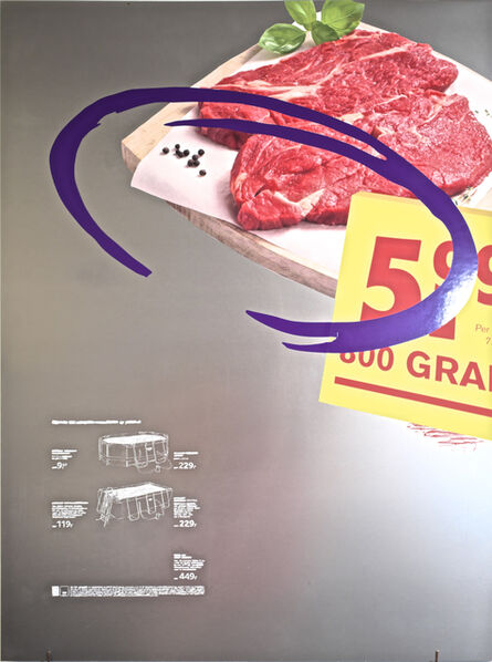Arthur Cordier, 'The Summer Series (100% MEAT)', 2020