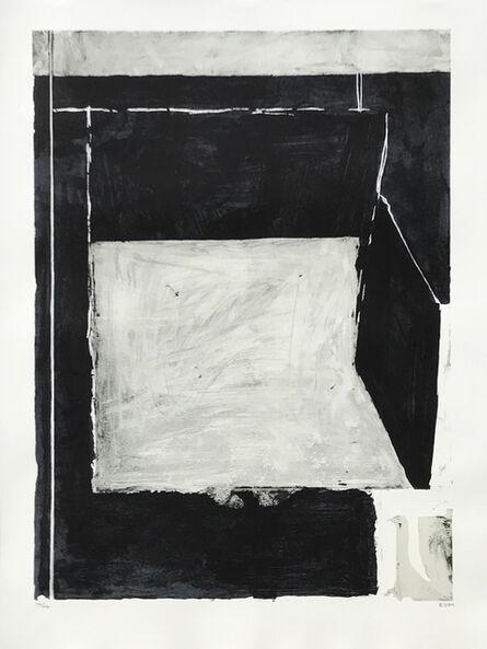 Richard Diebenkorn, 'Black and Grey', 1984