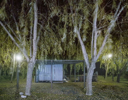 Jim Dow, 'Carrito El Farolito at Night, Rte. 11, Maciel, Santa Fe Privince, Argentina', 2012
