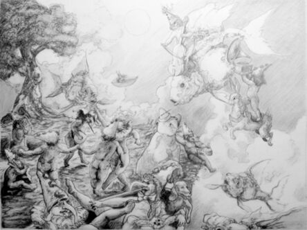 Daniel Birdsong, 'Yonder (Study)', 2014