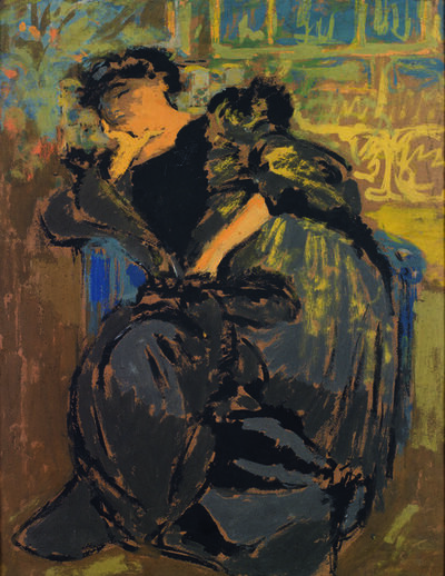 Édouard Vuillard, 'Madame Hessel somnolant', ca. 1911