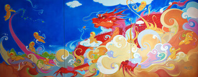 Yuxi Zhang, 'Awakened Dragon', 2013