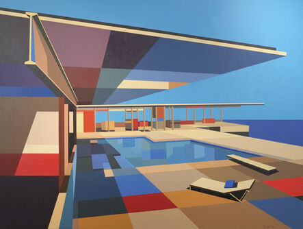 Andy Burgess, 'Stahl House V', 2013