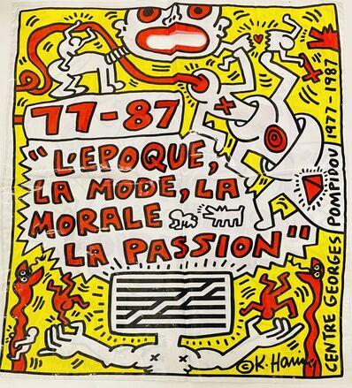 Keith Haring, 'Keith Haring Pompidou Paris ', 1987