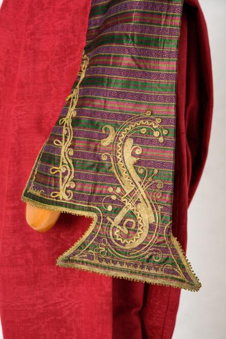 Unknown Designer, 'Jewish festive costume, Ioannina, detail.'