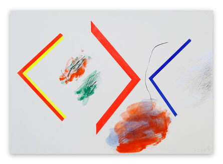 Claude Tétot, 'Untitled 1 (Abstract painting)', 2017