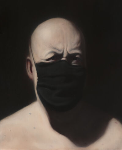Ken Currie, 'Christine's Mask', 2020