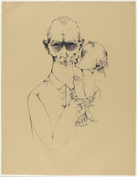 Heinrich Hoerle, 'Der Vater (The Father)', 1920