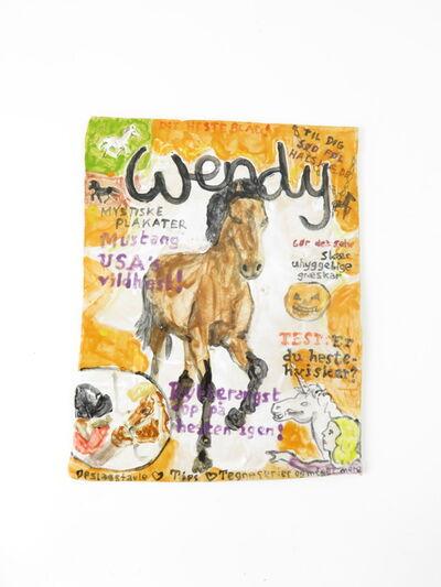 Rose Eken, 'Wendy Magazine ', 2017