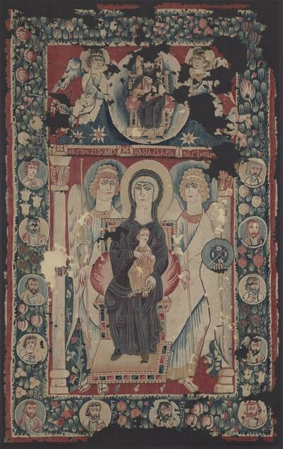 Egypt, Byzantine period, 6th century, 'Icon of the Virgin and Child', 500s