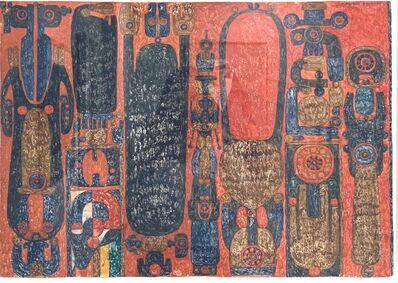 Pierre Louis Maurice Courtin, 'Rite Sublime et Usé', 17 Aout 1972