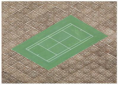 Thomas Bayrle, 'Tennis', 1987