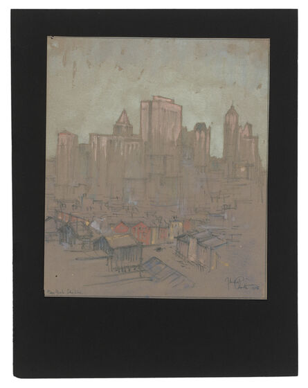 Jules Andre Smith, 'The New York Skyline (A View from Hell's Kitchen)', 1915