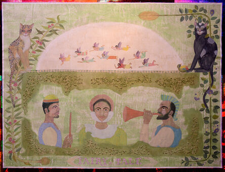 Mithra Kamalam, 'Two performers and me as Cinderella', 2016