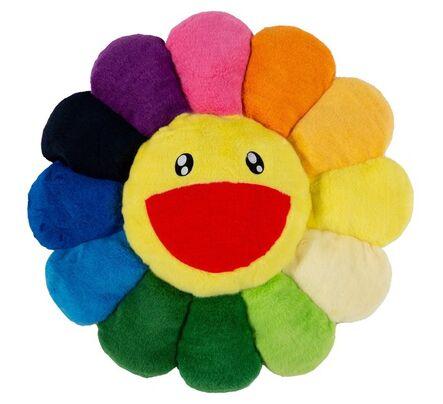 Takashi Murakami, 'Flower Cushion Rainbow (Medium)'