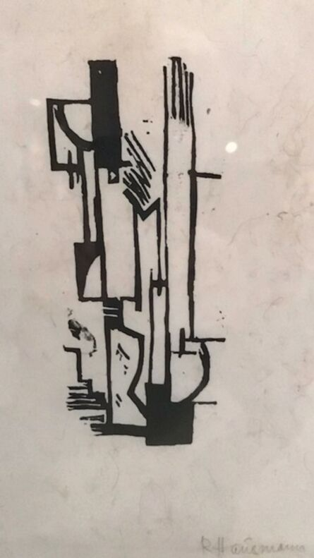 Raoul Hausmann, 'Dada Composition', 1918