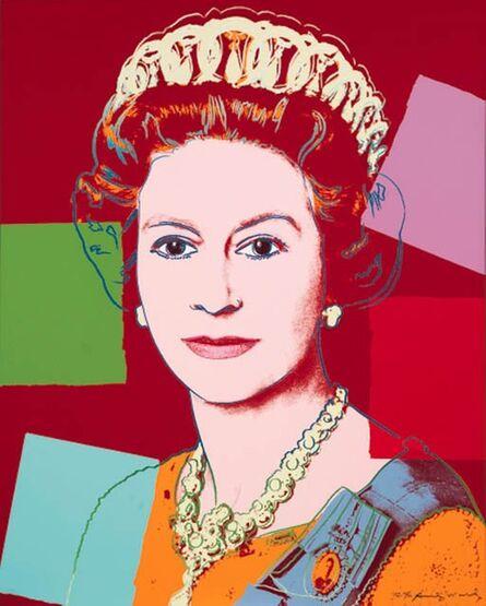 Andy Warhol, 'Queen Elizabeth II of the United Kingdom (II.334)', 1985