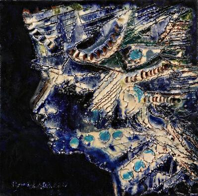 René Portocarrero, 'Mujer , Estudio para el Mural del Palacio de la Revolucion.', 1967