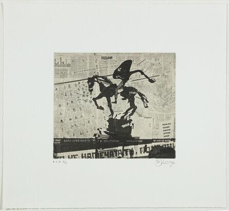 William Kentridge, 'untitled from Nose Portfolio or Nose on a Horse', 2010
