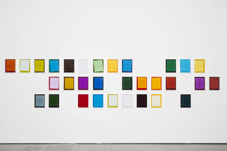 Ebbe Stub Wittrup, 'After Matyushin's Guide to Color #1- #30', 2014