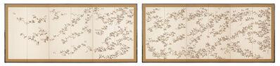 Chogetsu, '1000 Flying Birds (T-0696)', Showa era (1926, 89), ca. 1930's