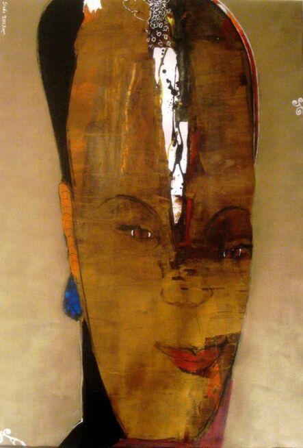 Adel El Siwi, 'Blue Earrings', 2013