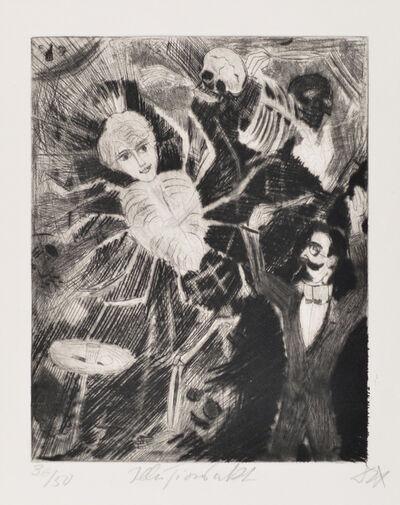 Otto Dix, 'Magic Act', 1922