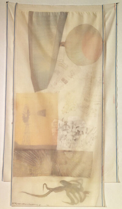 Robert Rauschenberg, 'Scent (from Hoarfrost Editions)', 1974