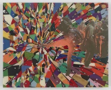 Fred Tomaselli, 'After Nov.11, 2010 #3', 2015