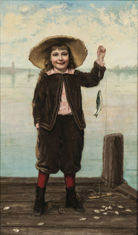 Phoebe (Phebe) Jenks, 'The First Catch'