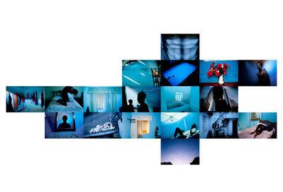 João Castilho, 'Hotel Tropical - Azul [Tropical Hotel - Blue]', 2011