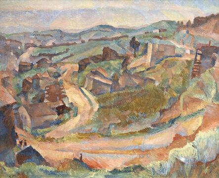 Gertrude Partington Albright, 'Below Twin Peaks', 1925