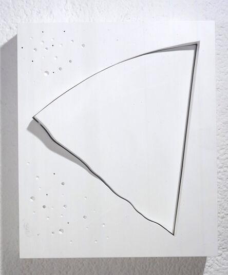 Yoshishige Saito, 'The Oblique 4 (White)', 1998