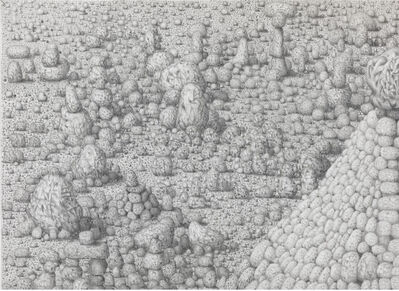 Paul Noble, 'Cathedral (detail)', 2011