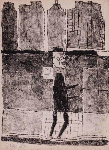 Jean Dubuffet, 'Les Murs', 1945