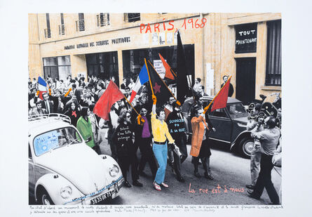 Marcelo Brodsky, 'From the series 1968: The fire of Ideas, París, 1968', 2014-2019
