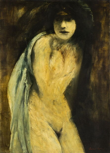 Francisco Corzas, 'Standing Nude', 1967
