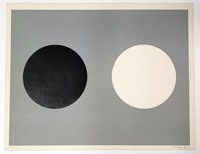 Alexander Liberman, 'Two Circles', 1961