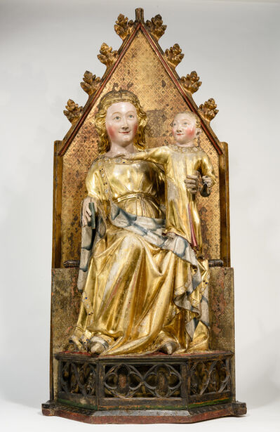 Workshop of Master of the Protective Saints of Cologne, 'Madonna and Child', c.1320/1330