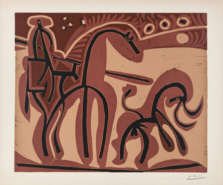 Pablo Picasso, 'Picador et Taureau', 1959