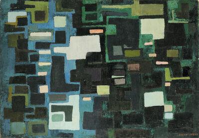 "Greta Freist, '""Mur - Mauer, M 8""', 1956"