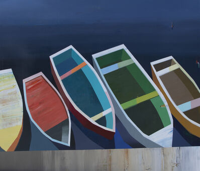 Siddharth Parasnis, 'Boats in the Shallow Water #25', 2019