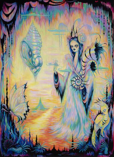 Camille Rose Garcia, 'Obsidian Butterfly', 2021