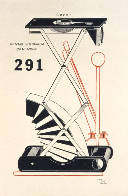 Francis Picabia, 'Ici, C'est Ici Stieglitz Foit et Amour', 1915