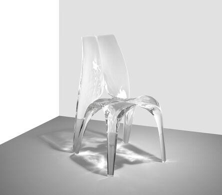 Zaha Hadid, 'Chair 'Liquid Glacial'', 2015
