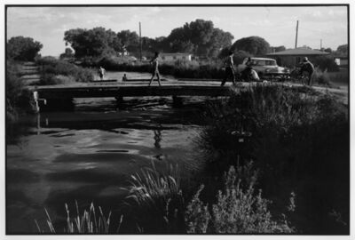 Danny Lyon, 'Bernalillo Main Canal', 1970