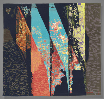 Mathieu Matégot, 'A tapestry', second half of twentieth century