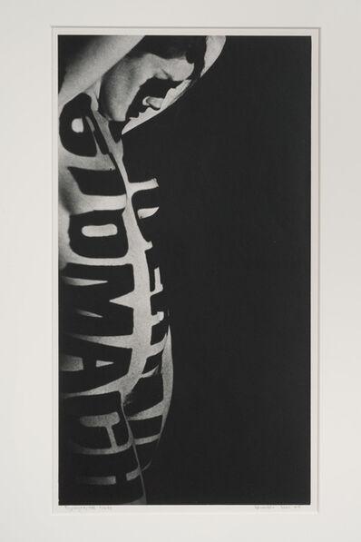 Robert Heinecken, 'Typographic Nude', 1965