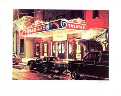 Davis Cone, 'Bad Axe Theater, Michigan', 1995