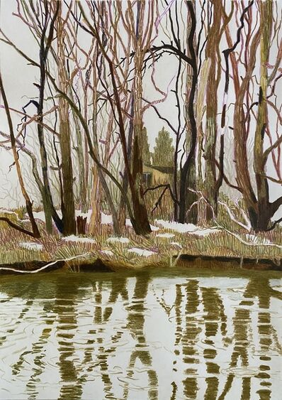 Per Adolfsen, 'Winter by the Stream', 2021